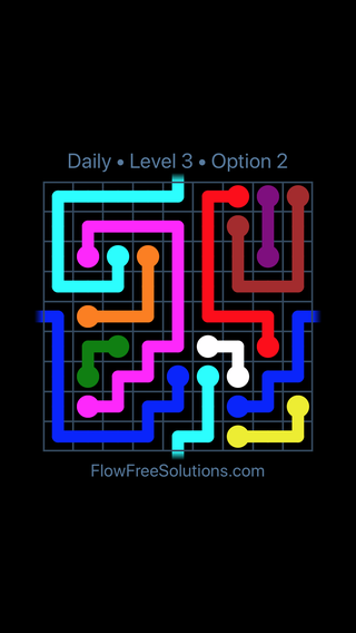 Solution and Answer to the Puzzle for Warps Date Friday, February 9, 2018 Level 3