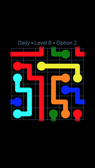 Solution and Answer to the Puzzle for Warps Date Friday, February 9, 2018 Level 8