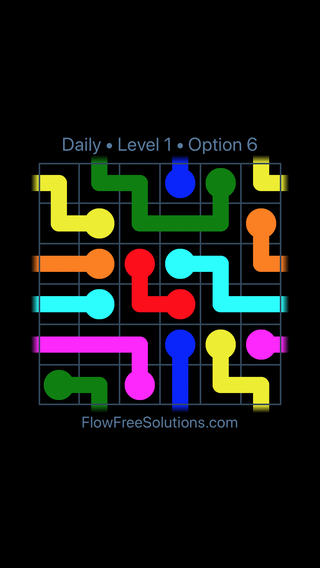 Solution and Answer to the Puzzle for Warps Date Saturday, February 10, 2018 Level 1