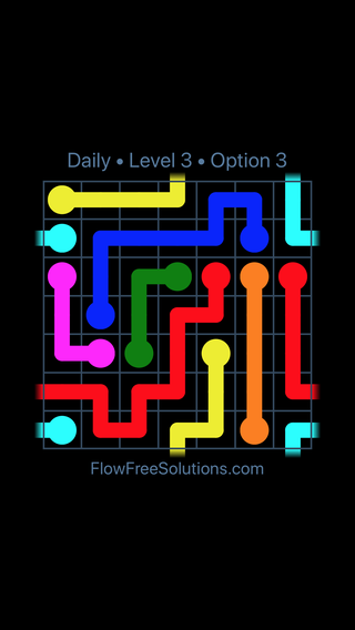 Solution and Answer to the Puzzle for Warps Date Saturday, February 10, 2018 Level 3