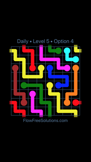 Solution and Answer to the Puzzle for Warps Date Saturday, January 12, 2019 Level 5