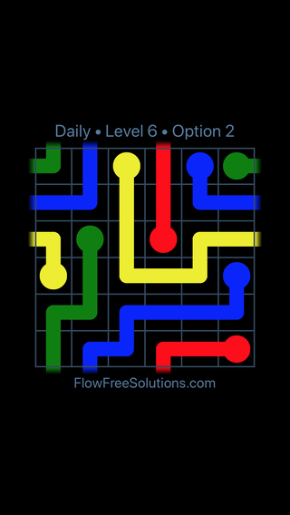 Solution and Answer to the Puzzle for Warps Date Saturday, February 10, 2018 Level 6