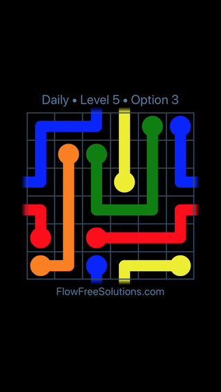 Solution and Answer to the Puzzle for Warps Date Monday, February 12, 2018 Level 5
