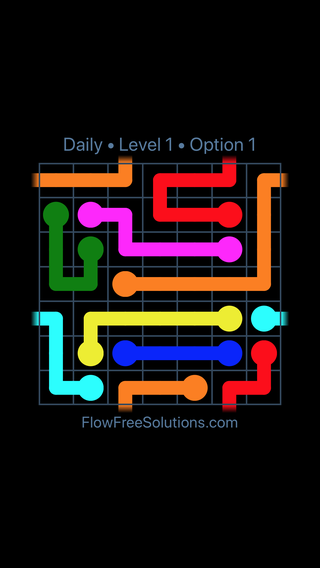 Solution and Answer to the Puzzle for Warps Date Tuesday, February 13, 2018 Level 1