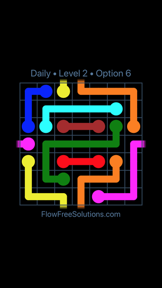 Solution and Answer to the Puzzle for Warps Date Tuesday, February 13, 2018 Level 2