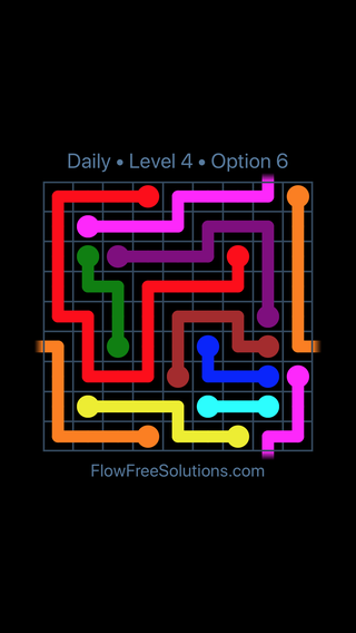 Solution and Answer to the Puzzle for Warps Date Tuesday, February 13, 2018 Level 4