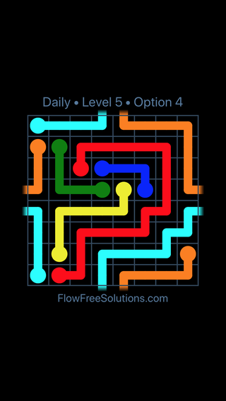 Solution and Answer to the Puzzle for Warps Date Tuesday, February 13, 2018 Level 5