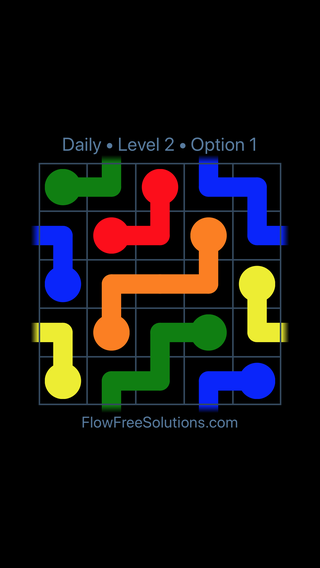 Solution and Answer to the Puzzle for Warps Date Wednesday, February 14, 2018 Level 2