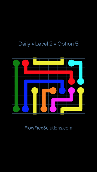 Solution and Answer to the Puzzle for Warps Date Thursday, January 11, 2018 Level 2