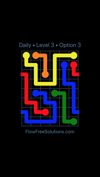 Solution and Answer to the Puzzle for Warps Date Thursday, January 11, 2018 Level 3