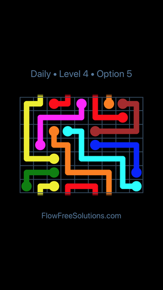 Solution and Answer to the Puzzle for Warps Date Thursday, January 11, 2018 Level 4
