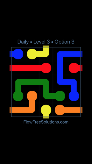 Solution and Answer to the Puzzle for Warps Date Friday, May 11, 2018 Level 3
