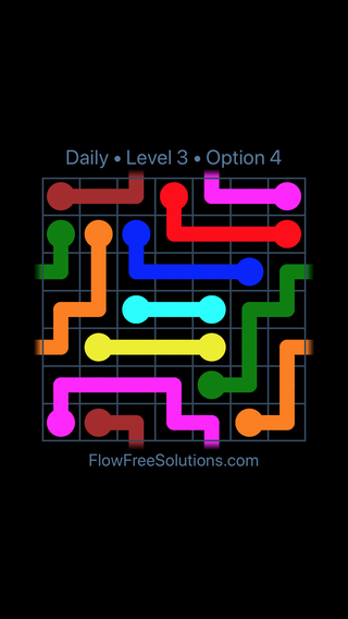 Solution and Answer to the Puzzle for Warps Date Saturday, May 12, 2018 Level 3