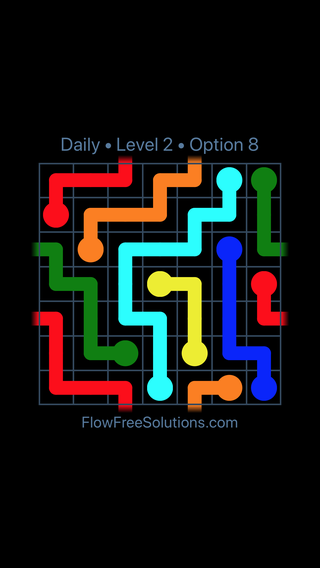 Solution and Answer to the Puzzle for Warps Date Sunday, August 5, 2018 Level 2