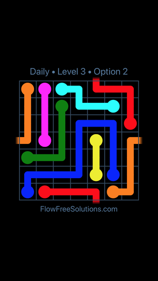 Solution and Answer to the Puzzle for Warps Date Sunday, August 5, 2018 Level 3