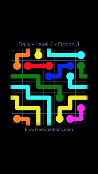Solution and Answer to the Puzzle for Warps Date Sunday, May 13, 2018 Level 4