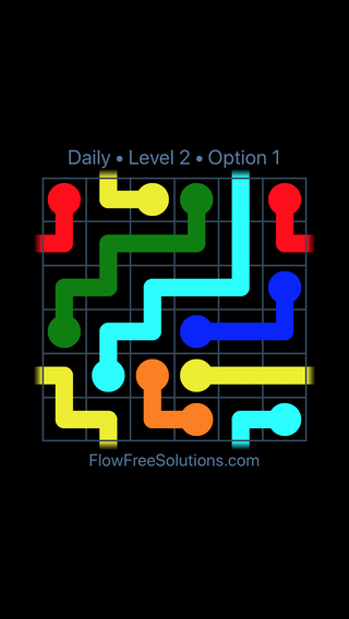 Solution and Answer to the Puzzle for Warps Date Monday, August 6, 2018 Level 2