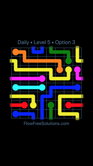 Solution and Answer to the Puzzle for Warps Date Monday, August 6, 2018 Level 5