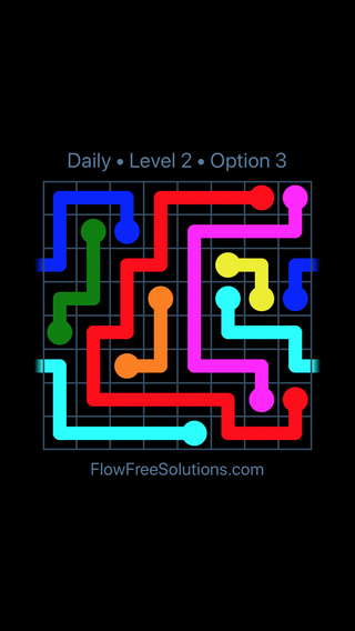 Solution and Answer to the Puzzle for Warps Date Tuesday, May 15, 2018 Level 2