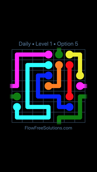Solution and Answer to the Puzzle for Warps Date Wednesday, May 16, 2018 Level 1