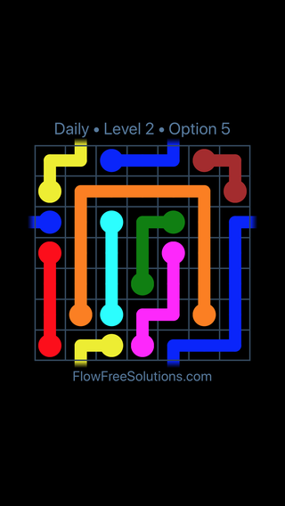 Solution and Answer to the Puzzle for Warps Date Wednesday, August 8, 2018 Level 2