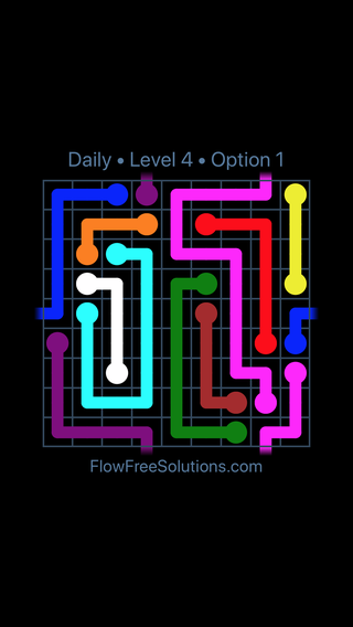 Solution and Answer to the Puzzle for Warps Date Wednesday, May 16, 2018 Level 4
