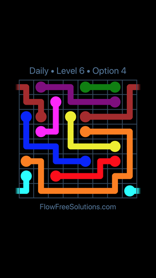 Solution and Answer to the Puzzle for Warps Date Friday, August 10, 2018 Level 6