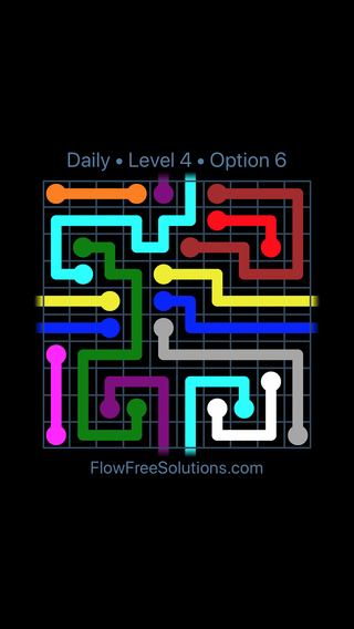 Solution and Answer to the Puzzle for Warps Date Saturday, August 11, 2018 Level 4