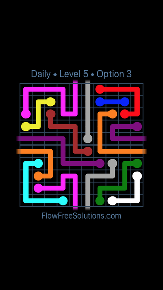 Solution and Answer to the Puzzle for Warps Date Saturday, August 11, 2018 Level 5