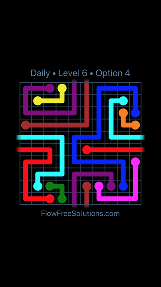 Solution and Answer to the Puzzle for Warps Date Saturday, August 11, 2018 Level 6