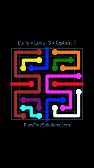 Solution and Answer to the Puzzle for Warps Date Friday, October 16, 2020 Level 3