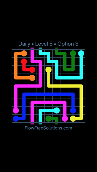 Solution and Answer to the Puzzle for Warps Date Friday, January 12, 2018 Level 5