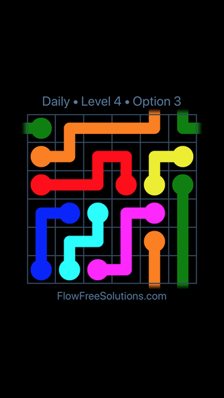 Solution and Answer to the Puzzle for Warps Date Monday, December 4, 2017 Level 4