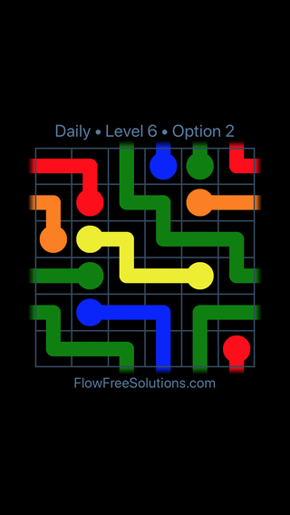 Solution and Answer to the Puzzle for Warps Date Monday, December 4, 2017 Level 6