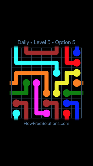 Solution and Answer to the Puzzle for Warps Date Friday, December 8, 2017 Level 5