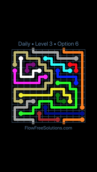 Solution and Answer to the Puzzle for Warps Date Sunday, September 13, 2020 Level 3