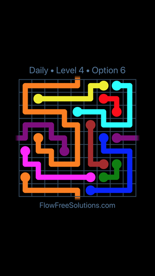 Solution and Answer to the Puzzle for Warps Date Saturday, January 13, 2018 Level 4