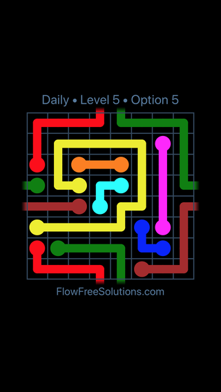 Solution and Answer to the Puzzle for Warps Date Saturday, January 13, 2018 Level 5