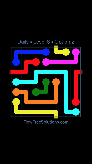 Solution and Answer to the Puzzle for Warps Date Saturday, January 13, 2018 Level 6