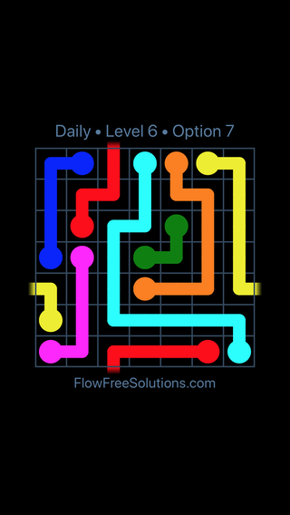 Solution and Answer to the Puzzle for Warps Date Saturday, October 17, 2020 Level 6