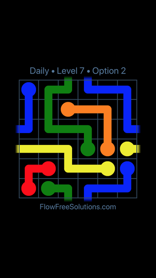 Solution and Answer to the Puzzle for Warps Date Saturday, January 13, 2018 Level 7