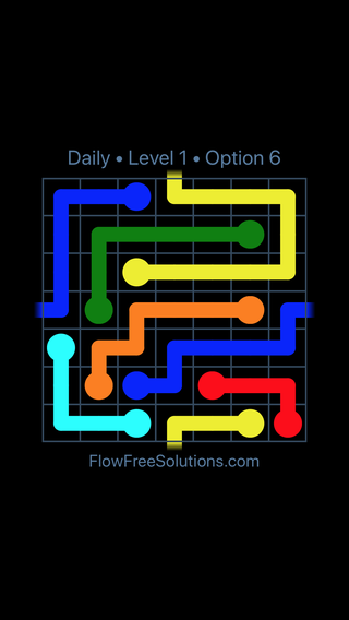 Solution and Answer to the Puzzle for Warps Date Thursday, February 7, 2019 Level 1