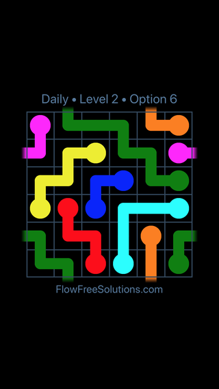 Solution and Answer to the Puzzle for Warps Date Friday, February 8, 2019 Level 2