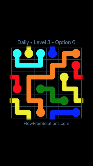 Solution and Answer to the Puzzle for Warps Date Friday, February 8, 2019 Level 3