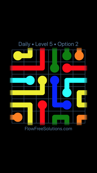 Solution and Answer to the Puzzle for Warps Date Friday, February 8, 2019 Level 5