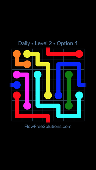 Solution and Answer to the Puzzle for Warps Date Saturday, February 9, 2019 Level 2