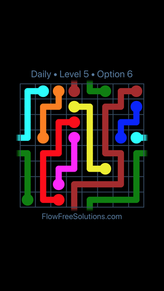 Solution and Answer to the Puzzle for Warps Date Saturday, February 9, 2019 Level 5