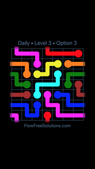 Solution and Answer to the Puzzle for Warps Date Sunday, February 10, 2019 Level 3
