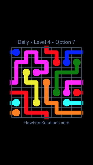 Solution and Answer to the Puzzle for Warps Date Sunday, February 10, 2019 Level 4