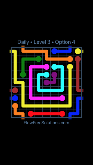 Solution and Answer to the Puzzle for Warps Date Monday, February 11, 2019 Level 3